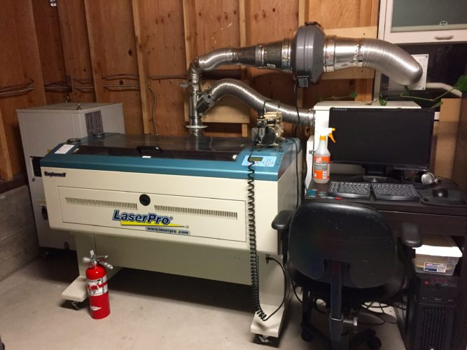 New Used Laser